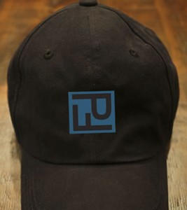 PF Logo Sueded Baseball Cap