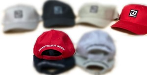 PF Logo Cotton Twill Baseball Cap